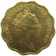 Гонконг 20 центов 1991 г.