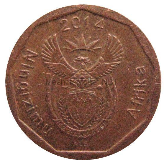 ЮАР 10 центов 2014 г.