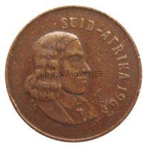 ЮАР 1 цент 1967 г.