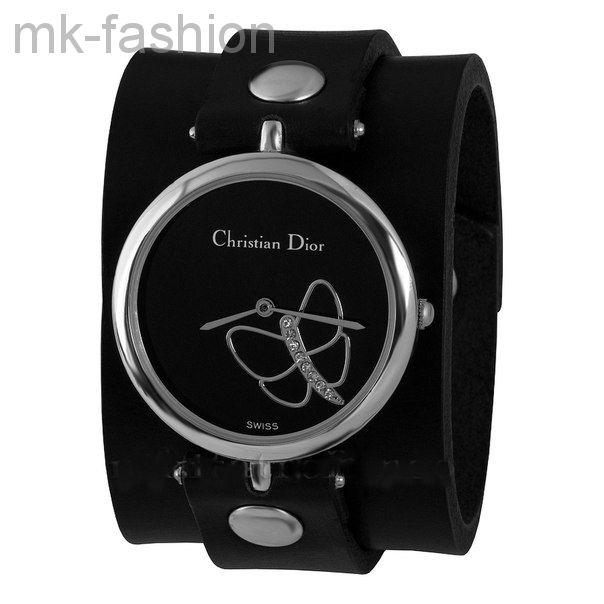 Часы Dior на широком браслете 2385