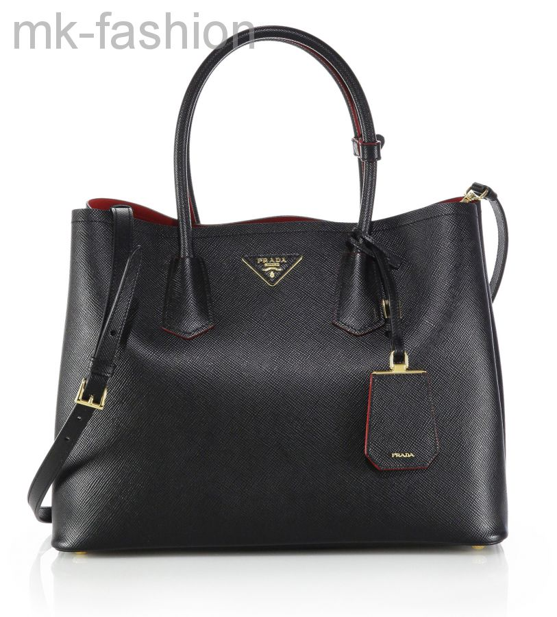 Сумка Prada Saffiano Cuir Double Bag
