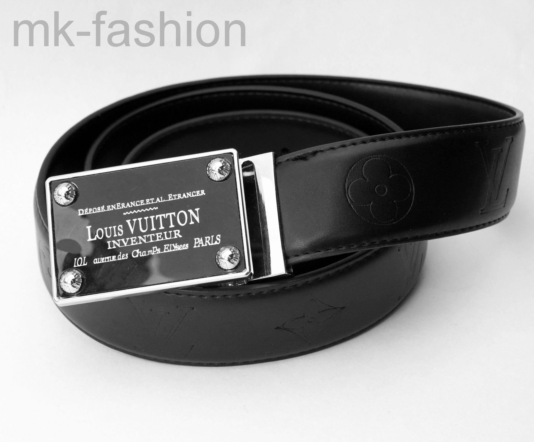 8fd1c4655341 Ремень Louis Vuitton Inventeur 423 - кожаный классический, точная ...