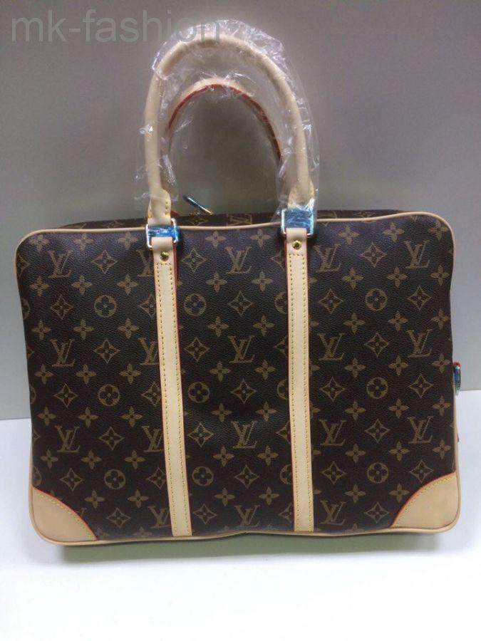 Louis Vuitton Briefacases Bags Monogram Porte-Documents Voyage 16