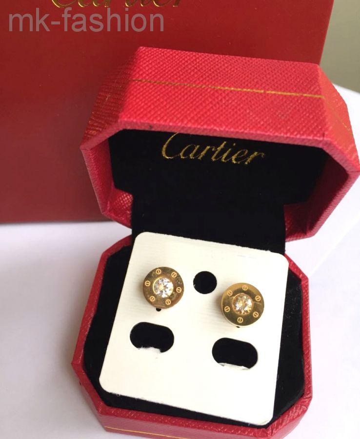 СЕРЬГИ  Cartier 54519