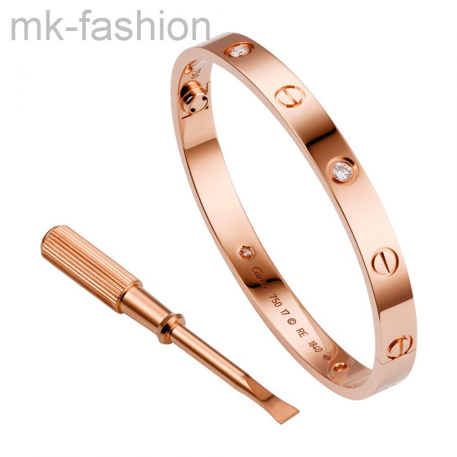 Браслет Cartier Love 111 розовое золото