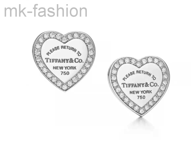 Серьги Tiffany&Co heart tag