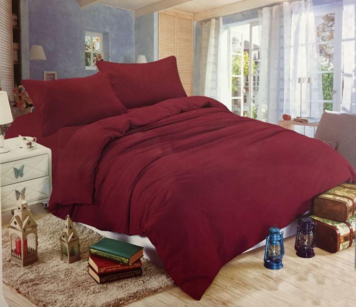 Комплект постельного белья Сатин однотонный CS010