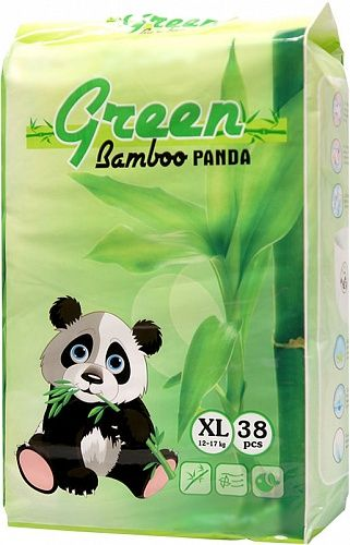 Green Bamboo Panda (XL)
