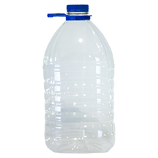 Бутылка пластиковая  с кр. 5 л 20 шт.