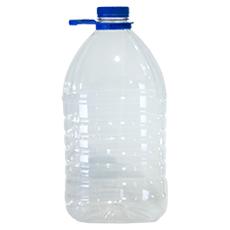 Бутылка пластиковая  с кр. 5 л 1 шт.