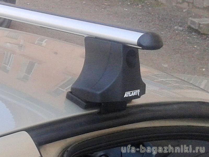 Багажник на крышу Nissan Primera P10, Атлант, аэродинамические дуги