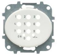 Накл. для мех. электр. выкл. с кодовой клав. белый ABB Tacto