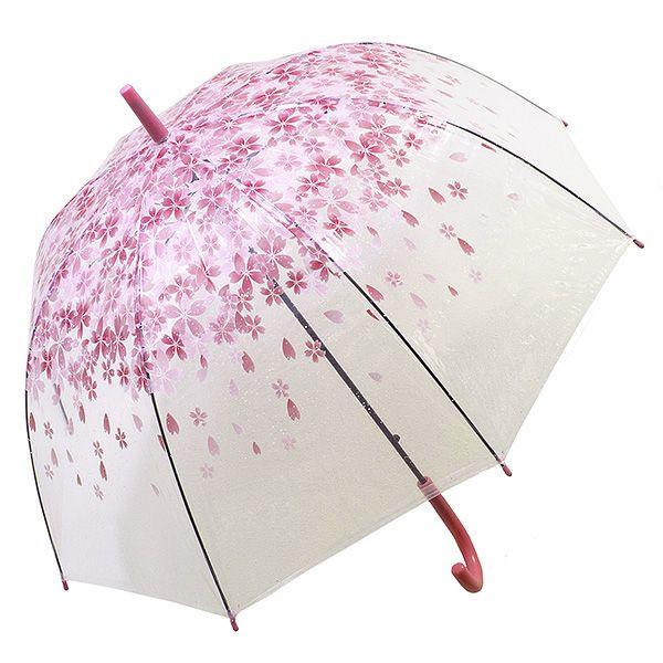 Зонт Цветы малый красные
