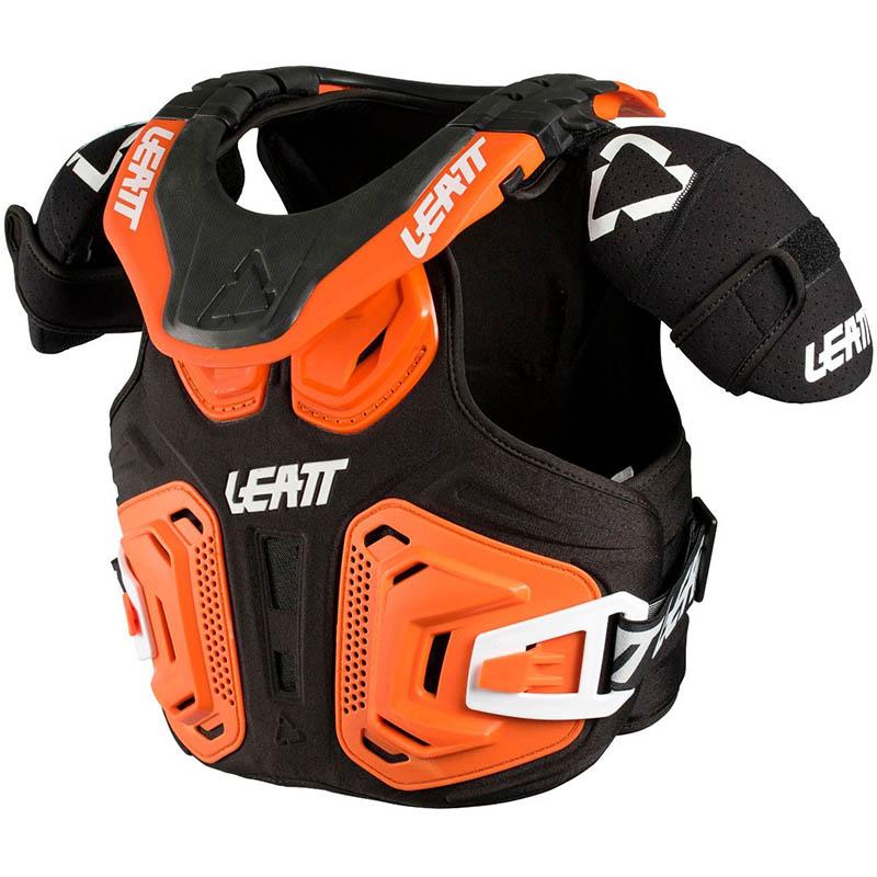 Leatt Fusion Vest 2.0 Junior Orange защитный жилет подростковый, оранжевый