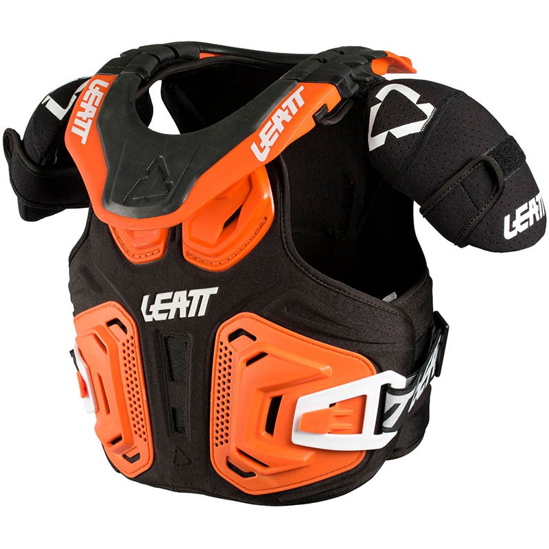 Leatt Fusion Vest 2.0 Junior Orange защитный жилет подростковый
