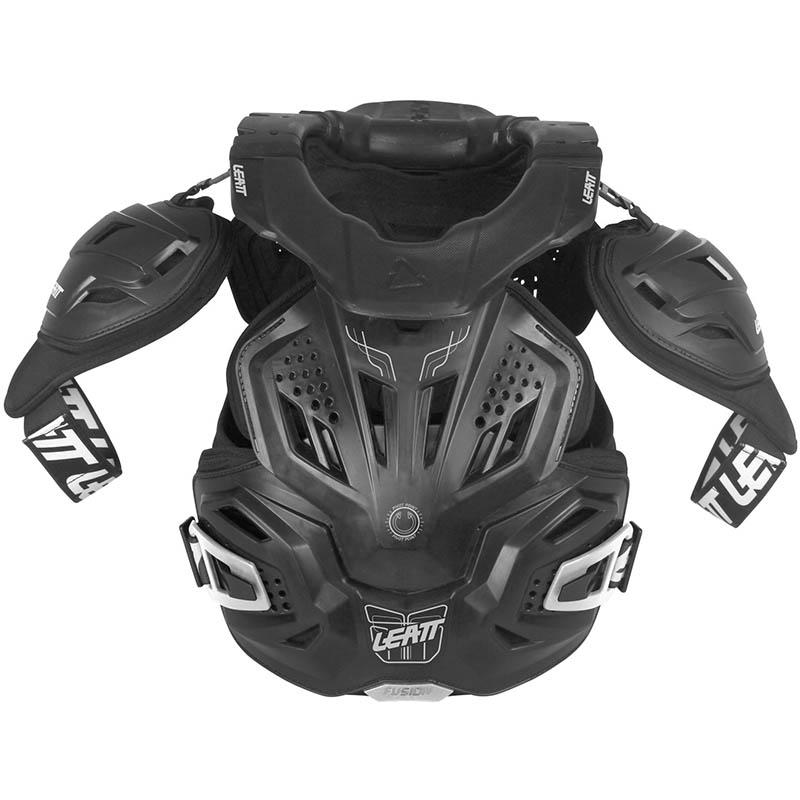 Leatt - 2019 Fusion Vest 3.0 Black защитный жилет, черный