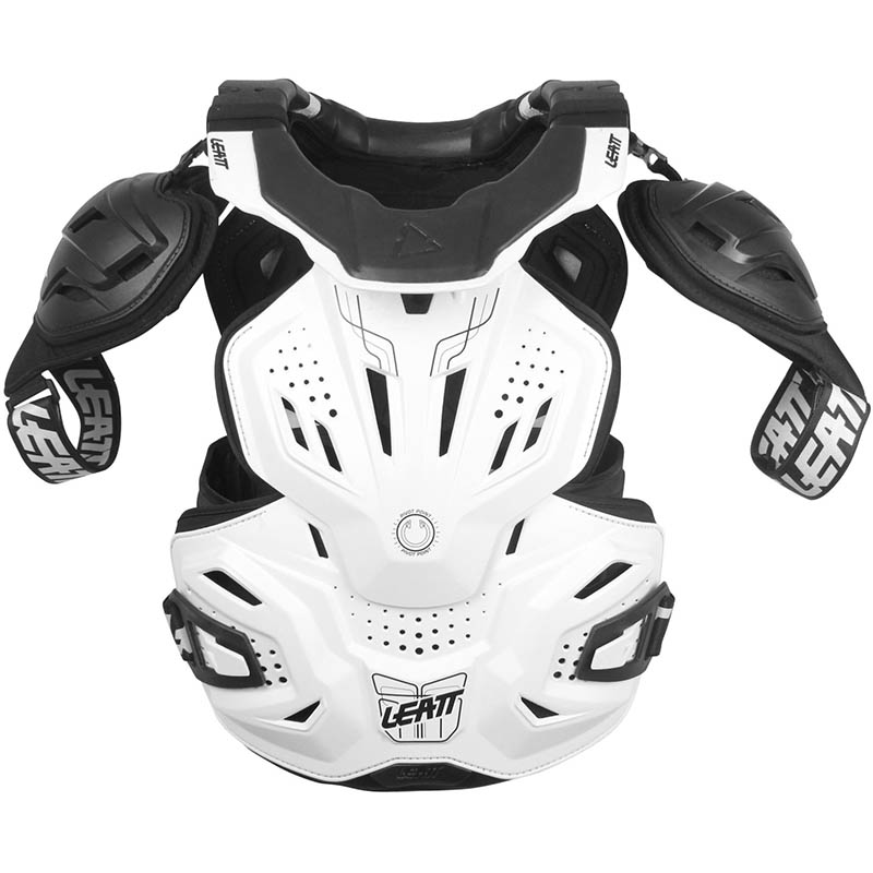Leatt - 2019 Fusion Vest 3.0 White защитный жилет, белый