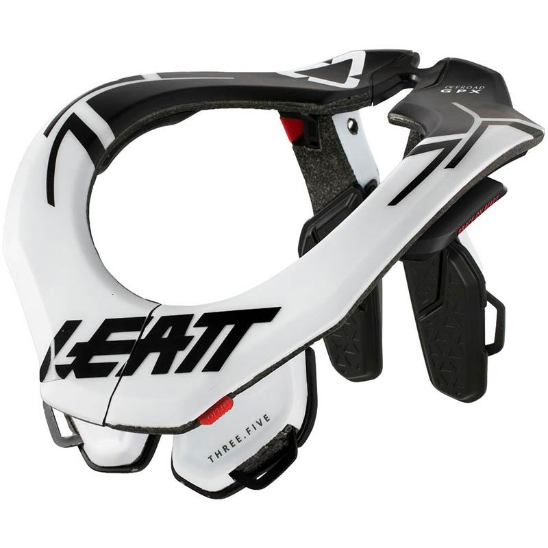 Leatt GPX 3.5 защита шеи, белая
