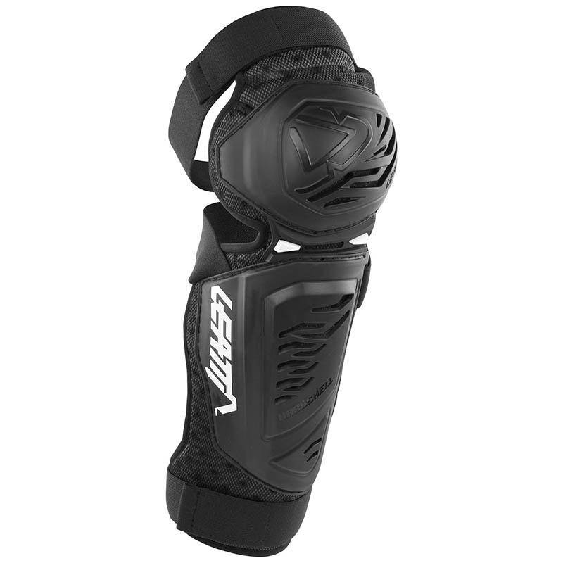 Leatt - 2018 3.0 EXT Knee & Shin Guard Black защита колен, черная