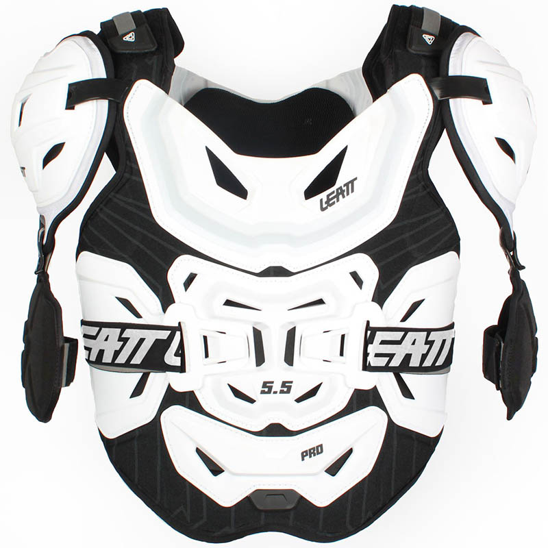 Leatt Chest Protector 5.5 Pro White защитный жилет