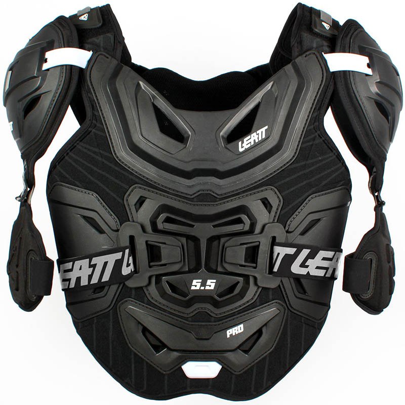 Leatt Chest Protector 5.5 Pro Black защитный жилет