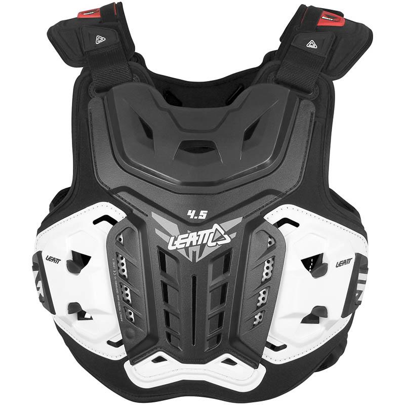 Leatt - 2019 Chest Protector 4.5 Black защитный жилет, черный
