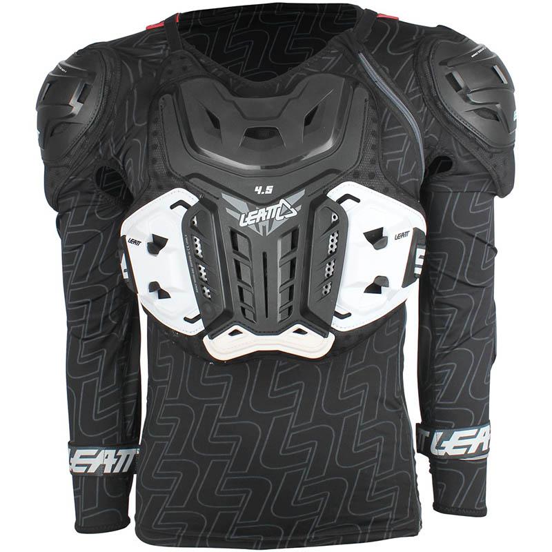Leatt - 2019 Body Protector 4.5 Black защитный жилет, черный