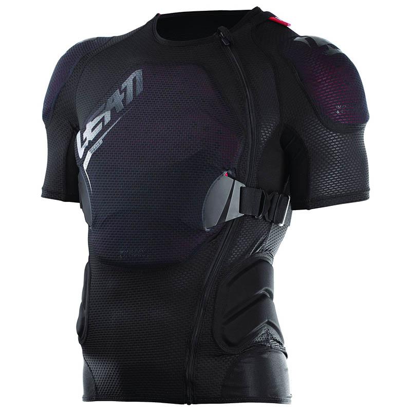 Leatt - 2019 Body Tee 3DF AirFit Lite Black защитный жилет, черный