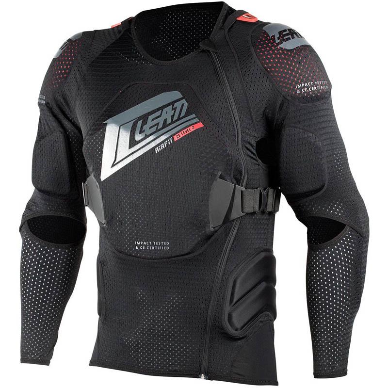 Leatt - 2019 Body Protector 3DF AirFit Black защитный жилет, черный