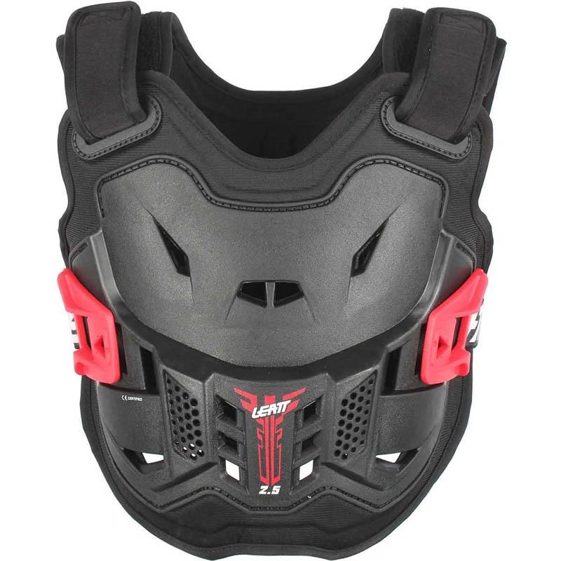 Leatt Chest Protector 2.5 Mini Black/Red защитный жилет детский, черно-красный