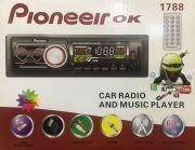 1788 Магнитола PioneeirOK +USB+AUX+Радио
