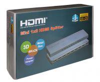 Сплиттер 1HDMI*8HDMI (1080P, 3D, HDMI ver1.4, 4K)