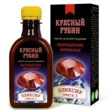 Масло льняное КРАСНЫЙ РУБИН, 200 мл