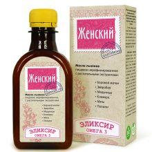 Масло льняное ЖЕНСКИЙ ЭЛИКСИР, 200 мл