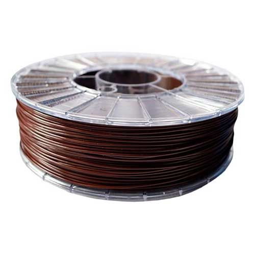PLA ECO Пластик СТРИМПЛАСТ 1.75 мм, шоколадный, 1.0 кг