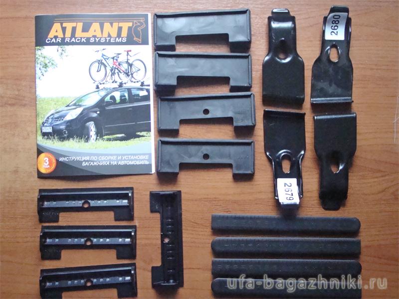 Адаптеры для багажника Nissan Teana 14-..., Атлант, артикул 7194