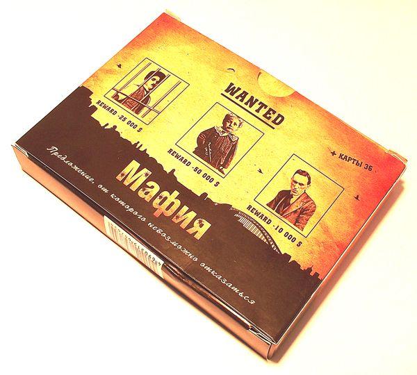 Карты мафия в подарочной упаковке