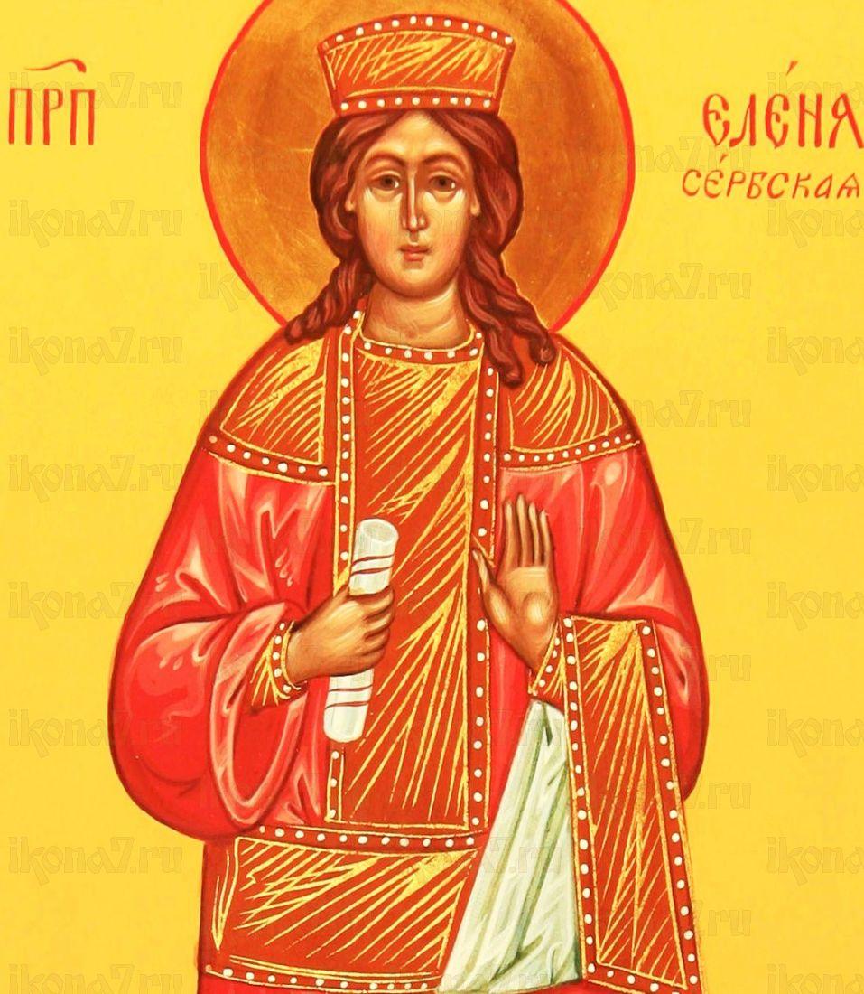 Елена Сербская (копия старинной иконы)