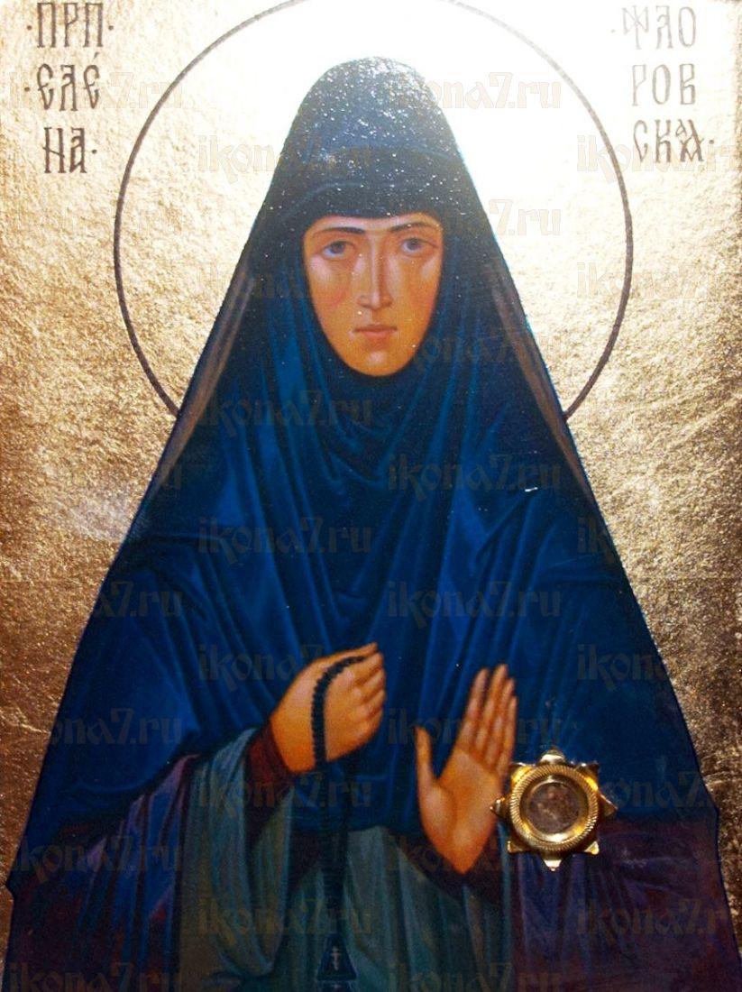 Елена Флоровская (икона на дереве)