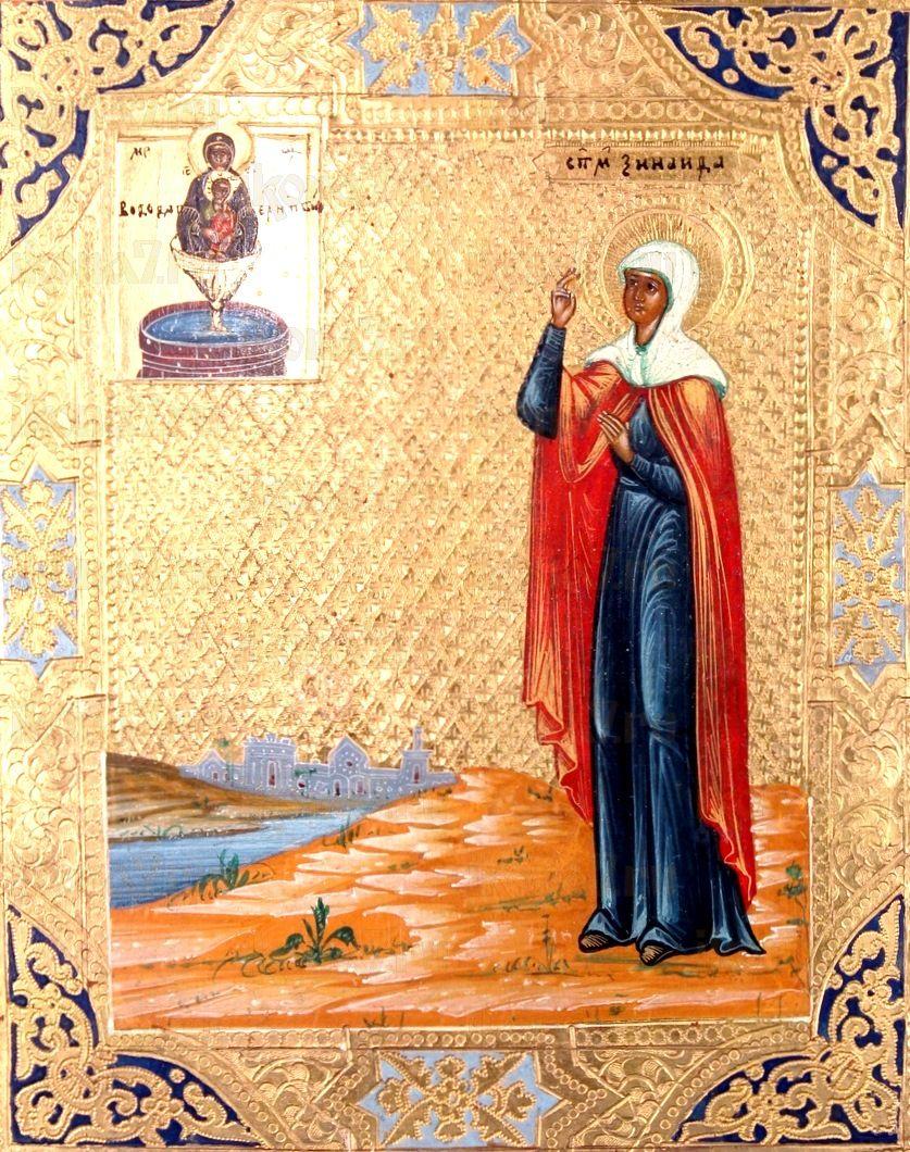 Икона Зинаида Тарсийская (копия старинной)