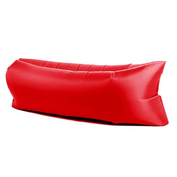 Надувной матрас-гамак LAMZAC (Ламзак), красный