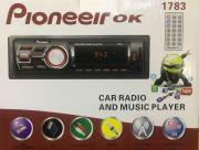 1783 Магнитола PioneeirOK +USB+AUX+Радио