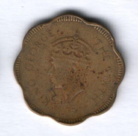 10 центов 1951 г. Цейлон