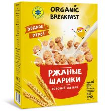 Готовый завтрак РЖАНЫЕ ШАРИКИ, 100 г