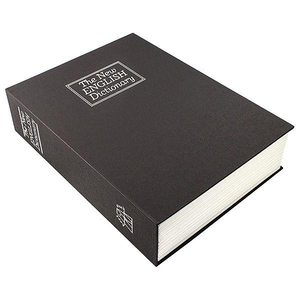 Книга сейф Английский словарь 26 см черный