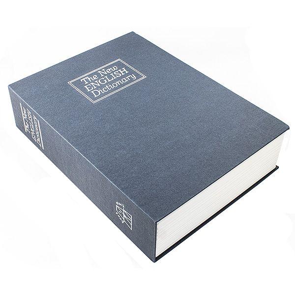 Книга сейф Английский словарь 26 см синий