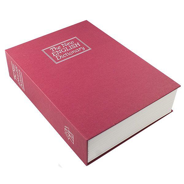 Книга сейф Английский словарь 26 см красный