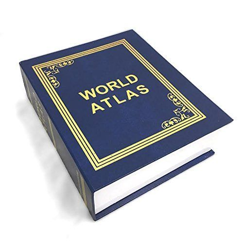 Книга сейф Атлас Мира 2116