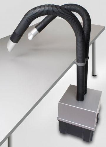 Дымоуловитель Zero Smog 2 Kit 2 Nozzle с наклонными насадками