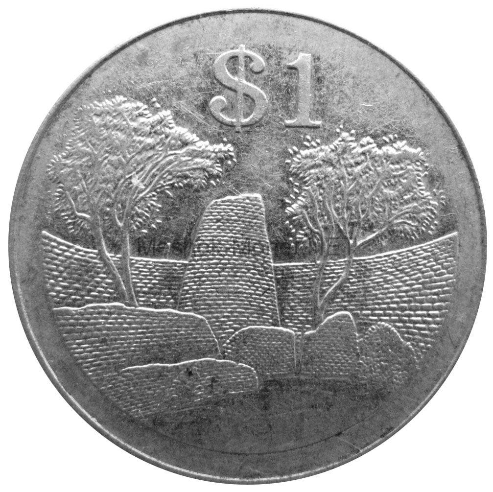Зимбабве 1 доллар 2001 г.